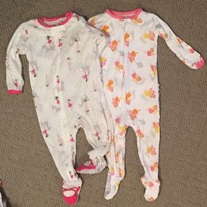 12M Carter's Footie Onesie Bundle